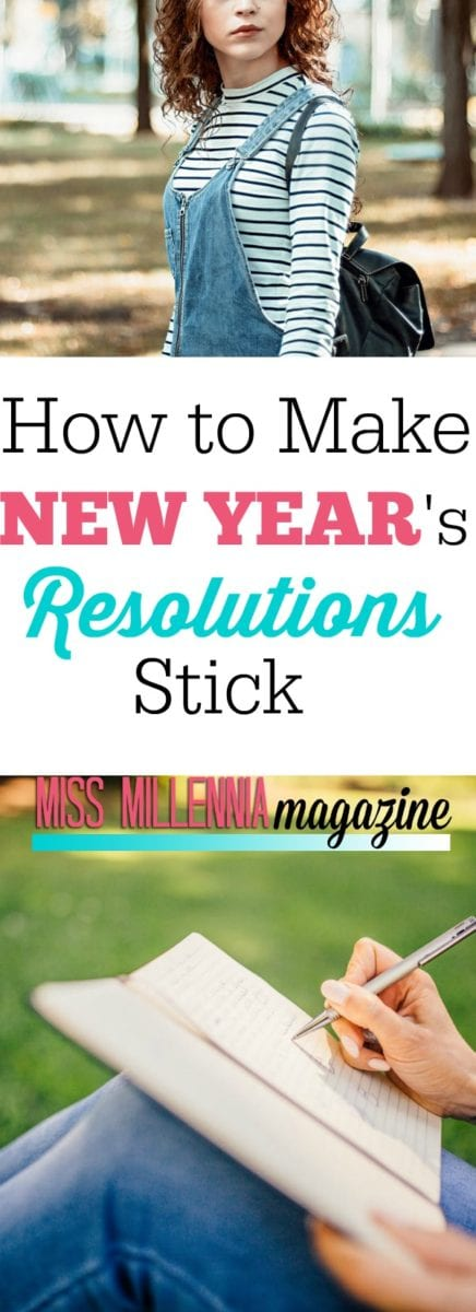How to make New Year's Resolutions Stick