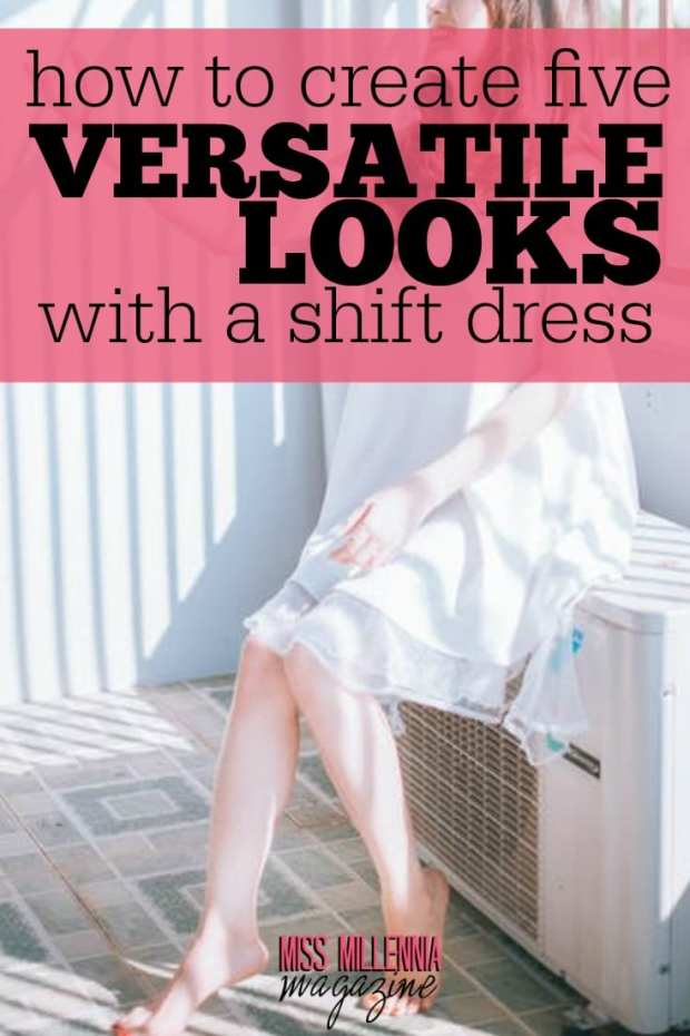 Shift dresses are very popular trend for summer style. Here is how-to create the perfect look with a shift dress that is versatile for many events.
