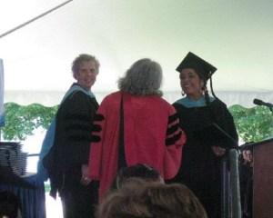 lady lennia chrisite chorbajian's graduation