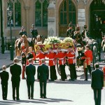 On 6 September 1997, Princess Diana was laid to rest at Westminster Abbey.