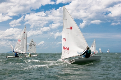 Sailboat competition