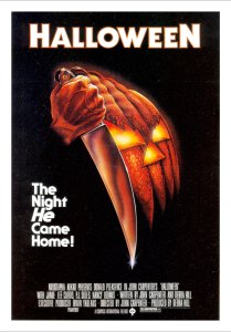 movie poster for Halloween
