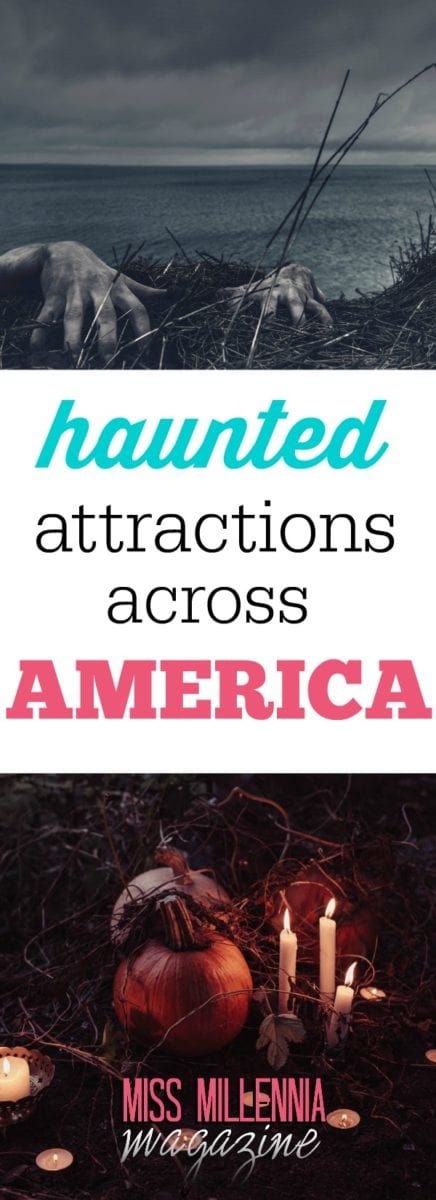 If you're looking for a little scare this month in a haunted attraction, here's a couple of haunted attractions that are sure to peak your scare experience.