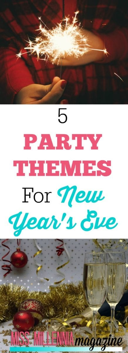 5 Party Themes for New Year's Eve