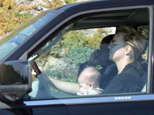 Brittney Spears Driving