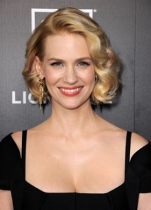 january jones short hair