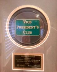 vice president's club