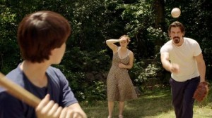 baseball scene from labor day movie