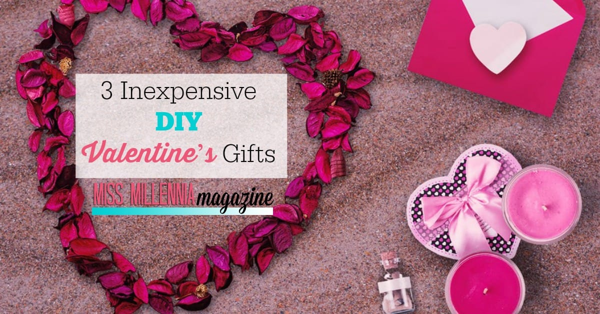 Valentine's Day is always a lovingly fun holiday. Get crafty and creative this year with these 3 DIY Valentine's gifts.