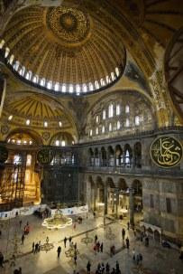 religious art Hagia Sophia interior