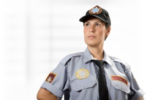 female security guard