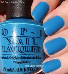 orge-the top blue nail color