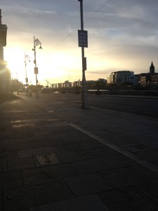 My street view of Dublin in the early hours