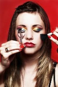 Girl with makeup