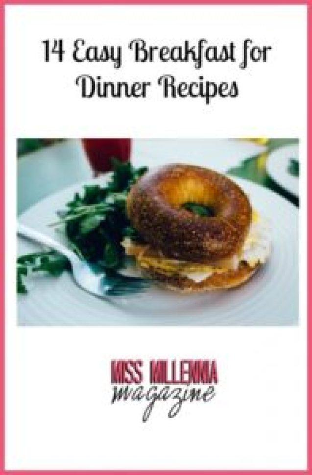 14 Easy Breakfast for Dinner Recipes