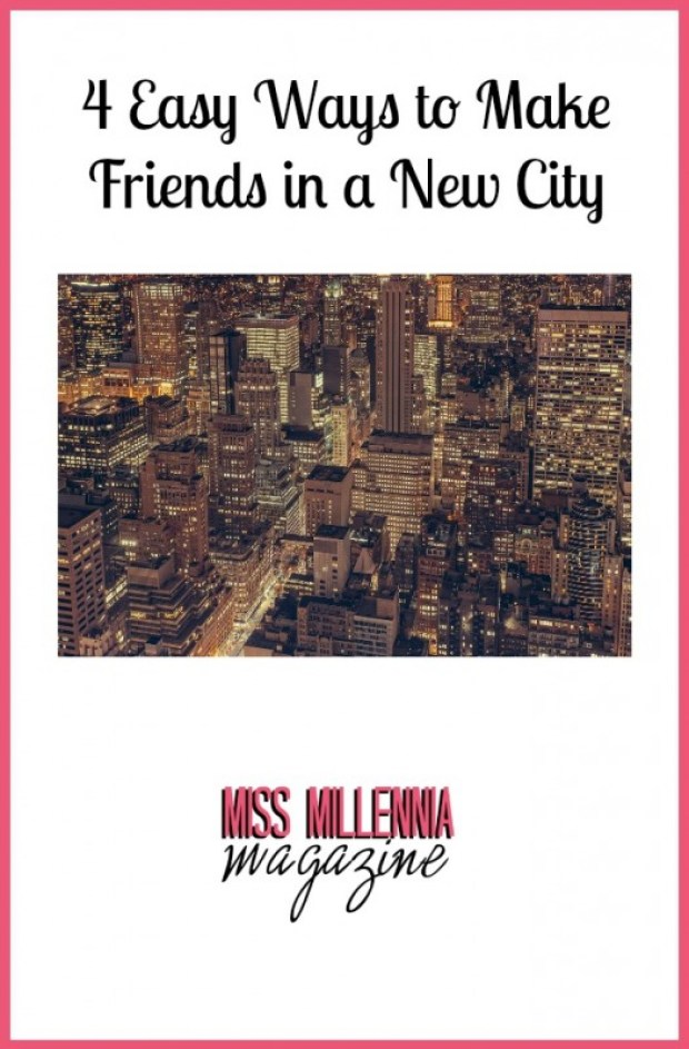 4 Easy Ways to Make Friends in a New City