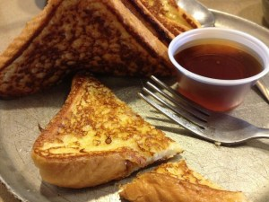 french toast and syrup