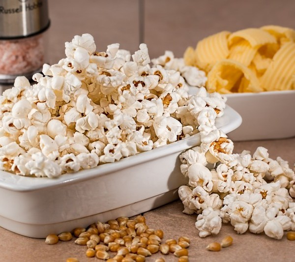 bowel of popcorn