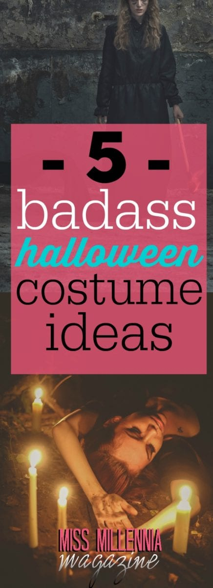 A list of five ideas for a truly badass Halloween costume to impress everyone with this year. All of them are easy to make and shouldn't cost too much!