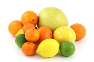 citrus food to be beautiful