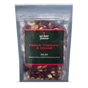 trail mix healthy snack