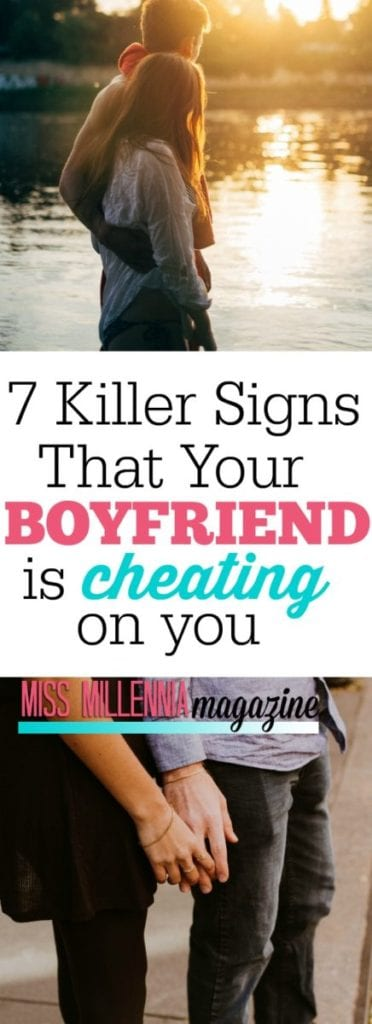 Suspect your boyfriend is cheating on you? Read through this list to see if it may fit the bill! If he does, you two need to have a talk.