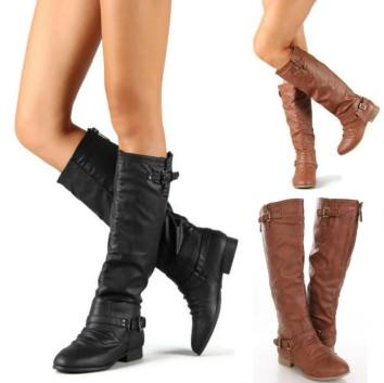 high boots to wear with winter dresses