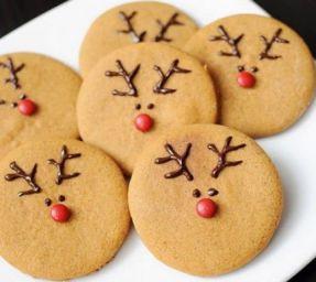 reindeer cookies christmas gift