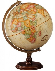 globe for people with history degrees