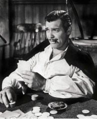 "Clark Gable in ""Gone with the Wind"""