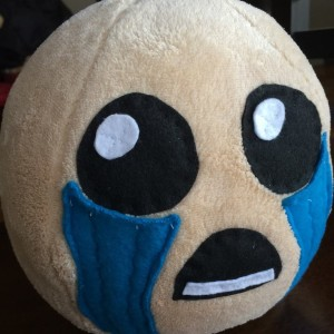 binding of isaac plushie on gemma zigman's etsy shop grzcreations
