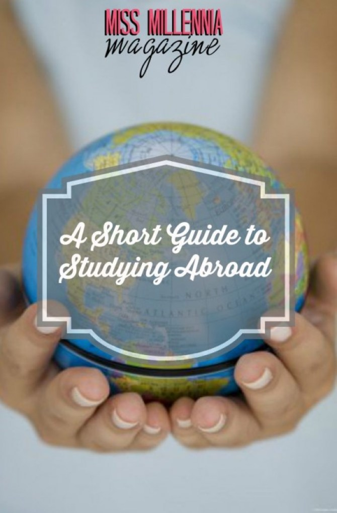 A Short Guide to Studying Abroad Cover