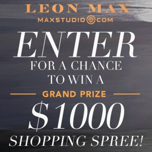 leon max max studio.com enter to win $1,000