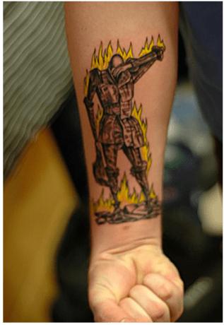 fahrenheit 451 tattoo