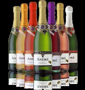 andre wine bottles