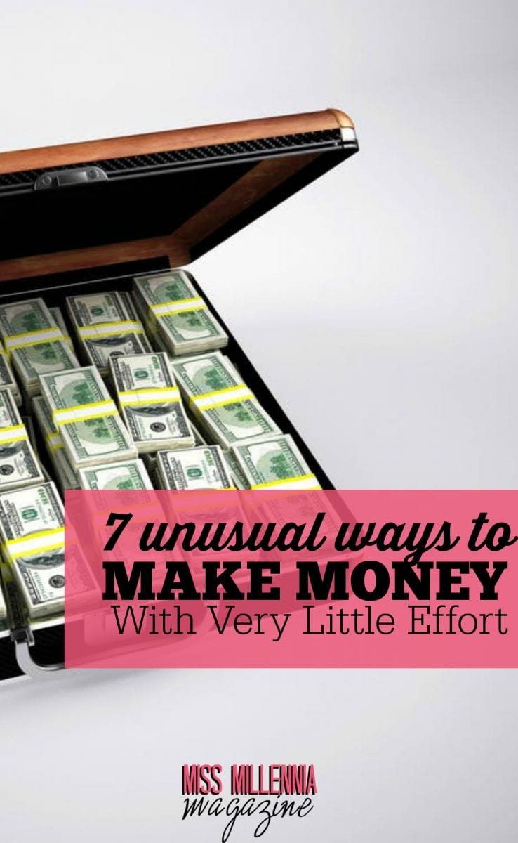 Looking to make some cash, but don't have a lot of energy to spare? Here's how to make money with minimal effort!