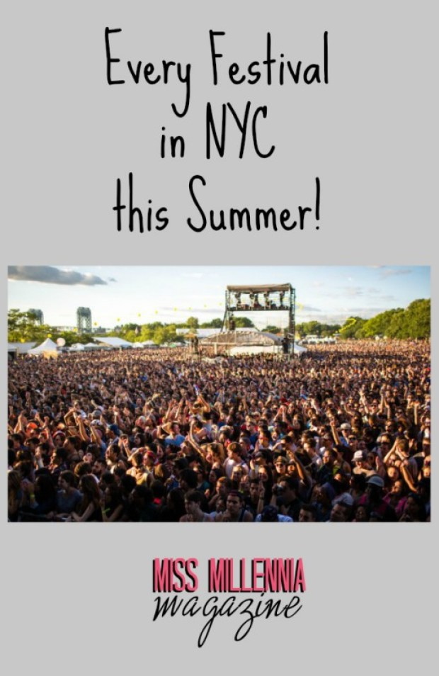 Every Festival in NYC this Summer!