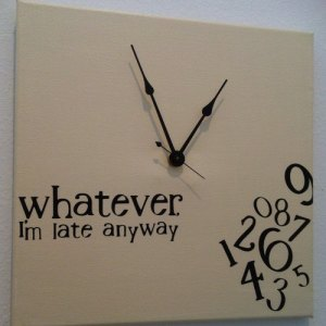 organize time arrive on time