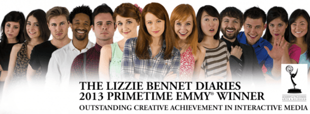 book adaptations lizzie bennet diaries youtube