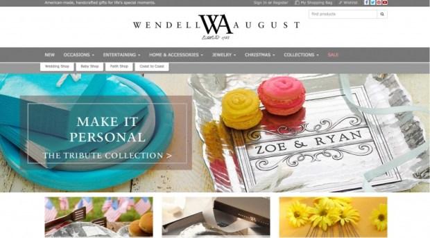 Wendell August Website