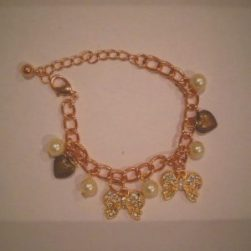 A beautiful charm bracelet