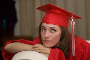 graduation cap girl