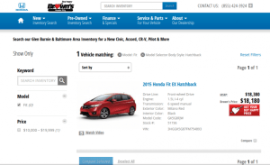 You can get quotes for a car online from any dealership