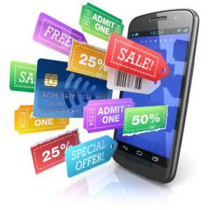save money with phone with coupon tags