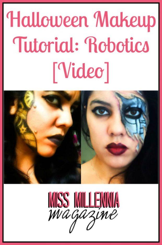 Halloween Makeup Tutorial Robotics [Video]