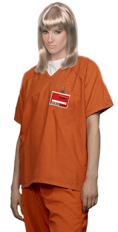orange is the new black prisoner halloween costume