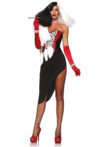 cruella devile sexy halloween costume