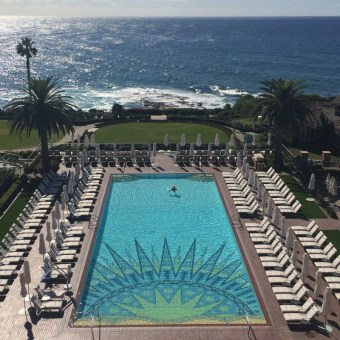 Montage Hotel in Laguna beach