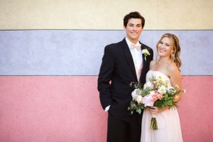 weddington way couple wedding photo