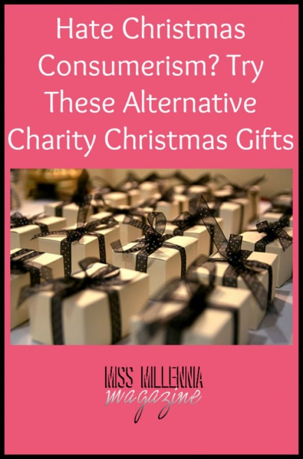 Hate Christmas Consumerism? Try These Alternative Charity Christmas Gifts